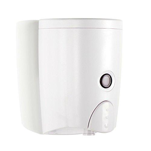 HOMEPLUZ Dispensador de Jabón de Pared Simply White (20oz/600ml)