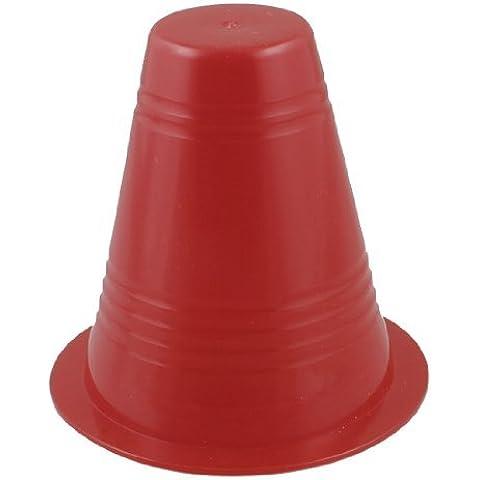 Plástico rojo de carreteras firma Marcas Roller Skating Roadlock 3.1