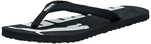 Puma Unisex Adulto Epic Flip V2 Chanclas, Negro (black-white), 47 EU