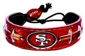 San Francisco 49ers Team Farbe Fußball Armband (Armband 49ers)