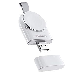 UGREEN Watch Ladestation kompatibel mit Apple Watch 4 Magnetisch Ladekabel Watch Ladegerät Charger unterstüzt für Apple Watch Series 4/3 / 2/1, Apple Uhr Nike+, Apple Watch 38mm/ 42mm/ 44mm Weiß