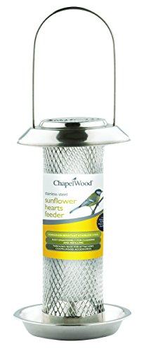 chapelwood-cpw3481-350-g-in-acciaio-inox-semi-di-girasole-per-uccelli-colore-argento