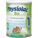 Physiolac Bio 1er Age 800g 0-6 Mois