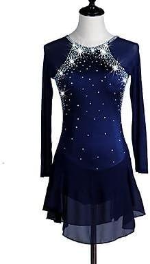 W&G(New Vestito Vestito Vestito da Pattinaggio Artistico per Donna da Ragazza Completo da Pattinaggio sul Ghiaccio Blu Rosso Tactel Elevata elasticit¨¤ Classico, XLB07J5HT8W3Parent | Colori vivaci  | Offerta Speciale  | Conosciuto per la sua eccellente quali 2fead5