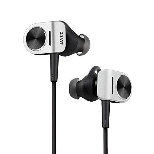 Auriculares Bluetooth, IAVCC Bluetooth 4.1 In-Ear Cascos Deportivos Inalámbricos a Prueba de Sudor Con micrófono y APT-X para iPhone7, 7Plus, Samsung S7, S7 edge y Otros Dispositivos-Negro