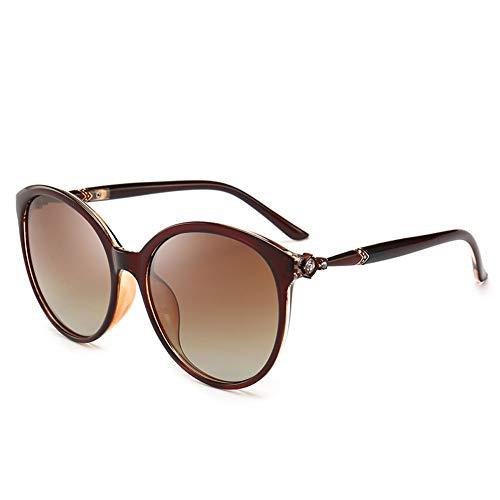 Helle Sonnenbrille, Weibliches Rundes Gesicht, Polarisierte Sonnenbrille Mit Langem Gesicht, UV-beständige Mode, Kleines Gesicht, Kann Zum Dekorieren Von Touristenfahrten Verwendet Werden.