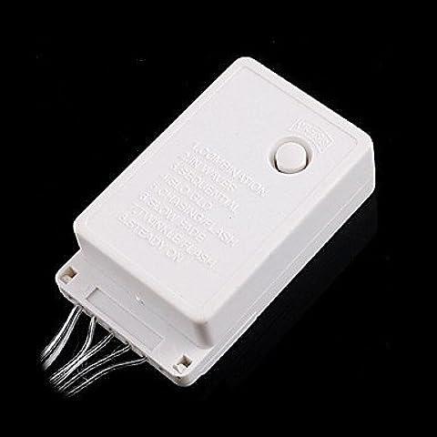 zjj/ Linea 7 LED bianco LED string