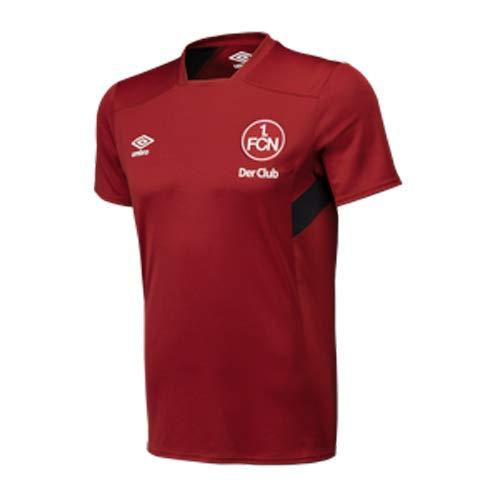 Umbro 1. FC Nürnberg Training Jersey Der Club Fan Shirt FCN Trikot Bundesliga, Größe:L (Umbro Trainings-shirt)