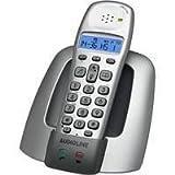 Audioline OSLO 200 schnurloses DECT Telefon SMS-Funktion beleuchtetes Display VIP-Ruf nebenstellentauglich