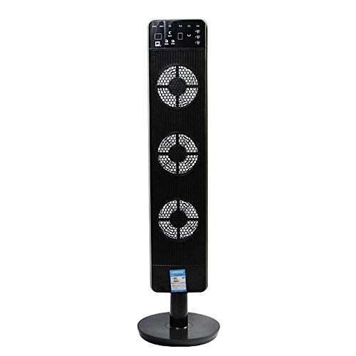 NZ-FAN-YINGYU Fans Household Tower Type Shaking Head Floor Electric Timing Remote Control - Top Side Control Panel