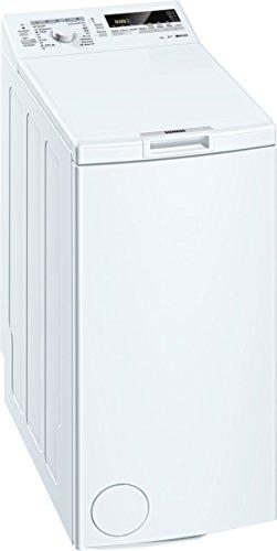 Siemens iQ300 WP12T227 Toplader / 7,00 kg / A+++ / 174 kWh / 1.200 U/min / Schnellwaschprogramm / Nachlegefunktion / Effizienter Wasserverbrauch /