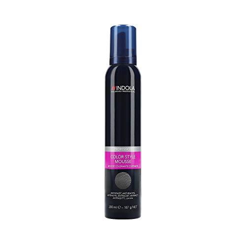 Indola Color Style Mousse anthrazit 200 ml