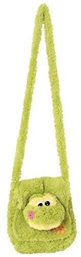Inware 6241 - Kindergartentasche Frosch, grün, Umhängetasche (Geld Beutel Kostüm Zubehör)