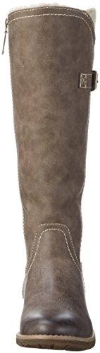 s.Oliver 26620, Stivali da Equitazione Donna Marrone (Pepper 324)