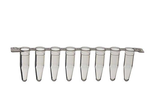 PCR-Streifen mit 8 Röhrchen 0, 2 mL, Beutel, 20x120 Stk.