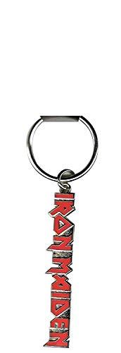 Iron Maiden - Rock Band Metall Schlüsselanhänger Logo -