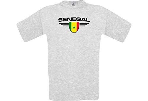 Man Camiseta Senegal Camiseta PAÍS SU Jungen su Número