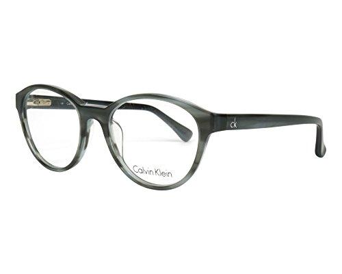 Calvin Klein Platinum - CK5881, Rund, Acetat, Damenbrillen, SLATE (097 ), 51/18/135