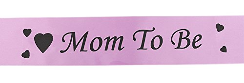 lumanuby 1PCS Hen Party Sash Belt Spitze Schärpen Classy Designer Mom To Be Schärpe Team für Henne Hochzeit Ladies Night Kleid Fancy Dress Zubehör Pink rose (Pink Lady Zubehör)