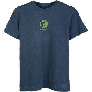 life-is-good-tee-shirt-womens-crusher-tee-yin-yang-harmony-on-true-couleur-bleu-taille-l