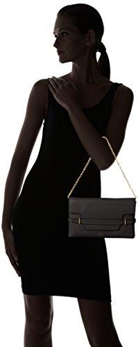 Ralph Lauren Camille Clutch, sac bandoulière Schwarz (Black)