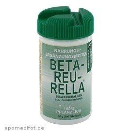 BETA REU RELLA Suesswasseralgen Tabl., 360 St