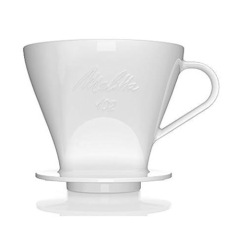 Melitta Permanent Porzellan Kaffeefilter P 102 für Filtertüten der Größe 102