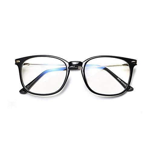 Männer Frauen Klassische Sonnenbrille Premium Computer Lesebrille Blaues Licht Und Blendung Keine Vergrößerung Brille Regelmäßige Größe Anti Eyestrain Objektiv Gläser Für Männer Und Frauen Für das Fah