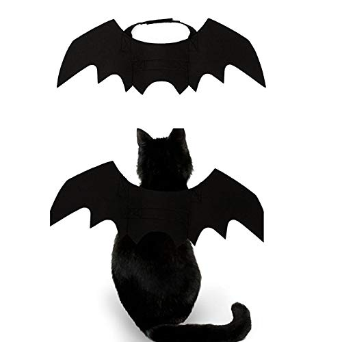Qwhome Pet Fledermausflügel, Kostüm Halloween Fledermaus Kostüm Für Hunde, Katzen, Halloween