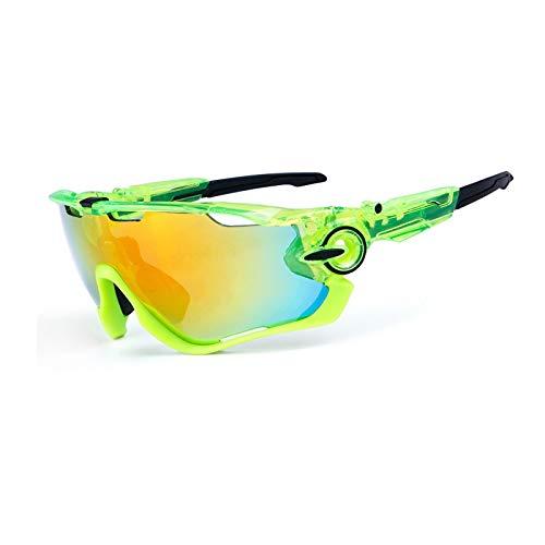 AnazoZ Gafas de Bicicleta Gafas de Bicicleta Gafas de Montar Gafas Protectoras Deporte Gafas de Bicicleta Gafas de Montar Gafas de Sol Gafas Estilo N