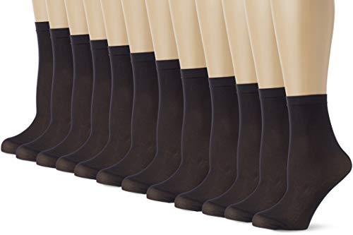 Classici Calze Sportivi Dita in Cotone da Donna Alta Qualit/à 5 paia PUTUO Donna Calzini con Dita Separate