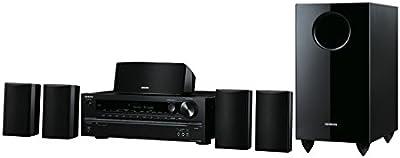Onkyo HT-S3705 - Sistema Home Cinema 5.1 (380W RMS, HDMI, USB), color negro