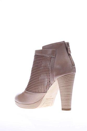 Nero Giardini Stiefeletten mit Plateau für Damen, P615002D-406, Absatz: 9 cm Taupe