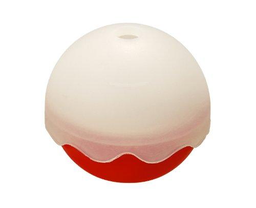 Lurch 10432 - Stampino per ghiaccio a forma di sfera, Ø 65 mm, colore: Rosso