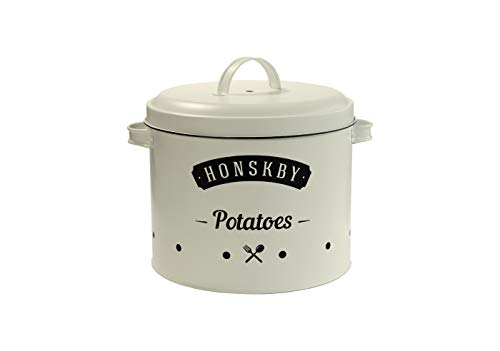 Honskby Barattoli per Patate - Elegante Design Vintage di qualità per  conservare Le Patate - per la Cucina
