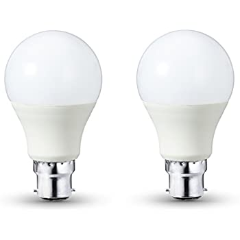 AmazonBasics LED Bulb B22, 10W to 75W, 1,055 lumens - Pack of 2