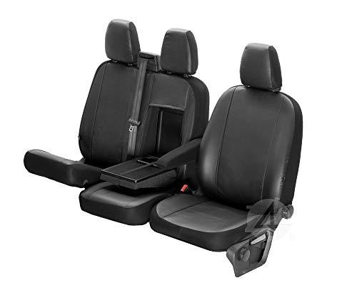 Passgenaue Kunstleder Sitzbezüge VIP ideal angepasst 1+2 (3-Sitzer) Fahrzeugspezifisch Kunstleder   4D-Z4L-DV-VIP-TC3M-01-65