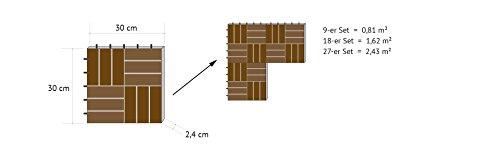 Zoom IMG-6 vanage piastrelle da giardino in