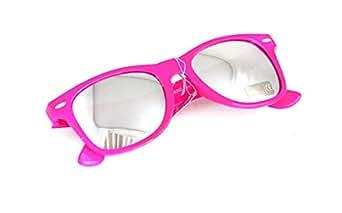 NERD® Sonnenbrille Pink Silber verspiegelt