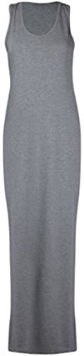 Sugerdiva - Robe - Moulante - Femme gris foncé