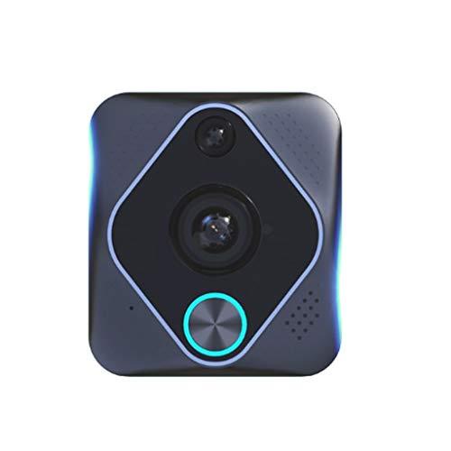 Skryo_ Electronics & Gadgets Skryo X6 Wireless WiFi Video Intercom Nachtsicht Visuelle Türsprechanlage Türklingel Kamera (Kleine Video Game Organizer)