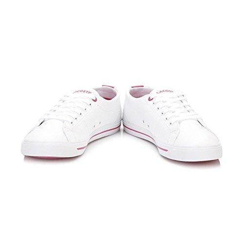 Lacoste Junior Bianco/Rosa Marcel 117 1 CAJ Sneaker White
