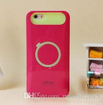 AUX MART iGlow Back Cover Case With Stand For Apple iPhone 4  available at amazon for Rs.249