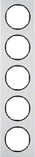 Hager 10152284 interruptor de luz Aluminio - Interruptores de luz (Aluminio, Aluminio,...