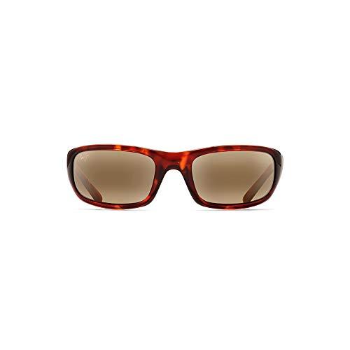 654087b12b0 Maui Jim H103-10 Tortoise Stingray Rectangle Sunglasses Polarised Sailing