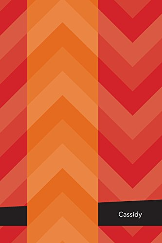 Etchbooks Cassidy, Chevron, College Rule, 6 X 9', 100 Pages
