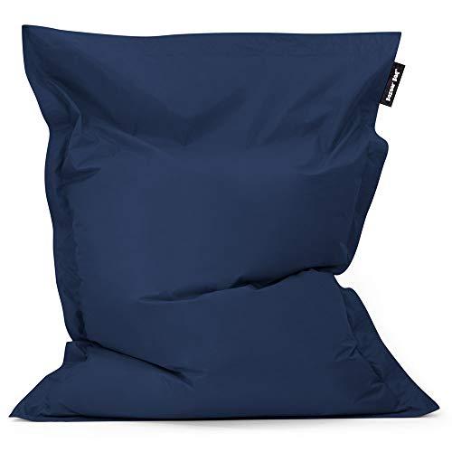 Bean Bag Bazaar Bazaar Bag - Azul Marino, 180cm x 140cm, Puf Gigante p