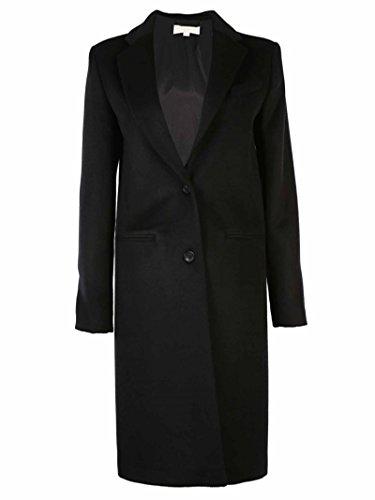 Cappotto Michael Kors MU52HABOTJ BLACK SIZE 4 misto lana
