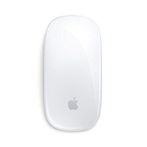 Apple Magic Mouse 2 - Ratón inalámbrico (Bluetooth, Lightning, USB), color blanco