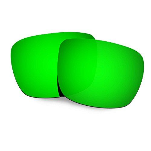 42e9d88ed4 HKUCO Plus Mens Replacement Lenses For Spy Optic Helm Sunglasses Emerald  Green Polarized